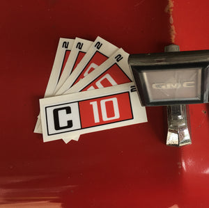 C10 Squared Exponent decal