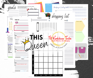 Fit Goddess Collab Planner 5.5 x 8.5