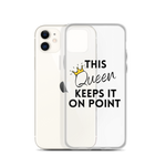 Keeps It On Point iPhone Case