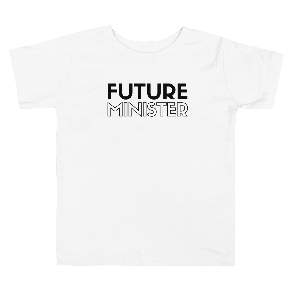 "Toddler ""Future Minister"" Tee"