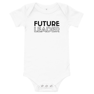 """Future Leader"" onesie"