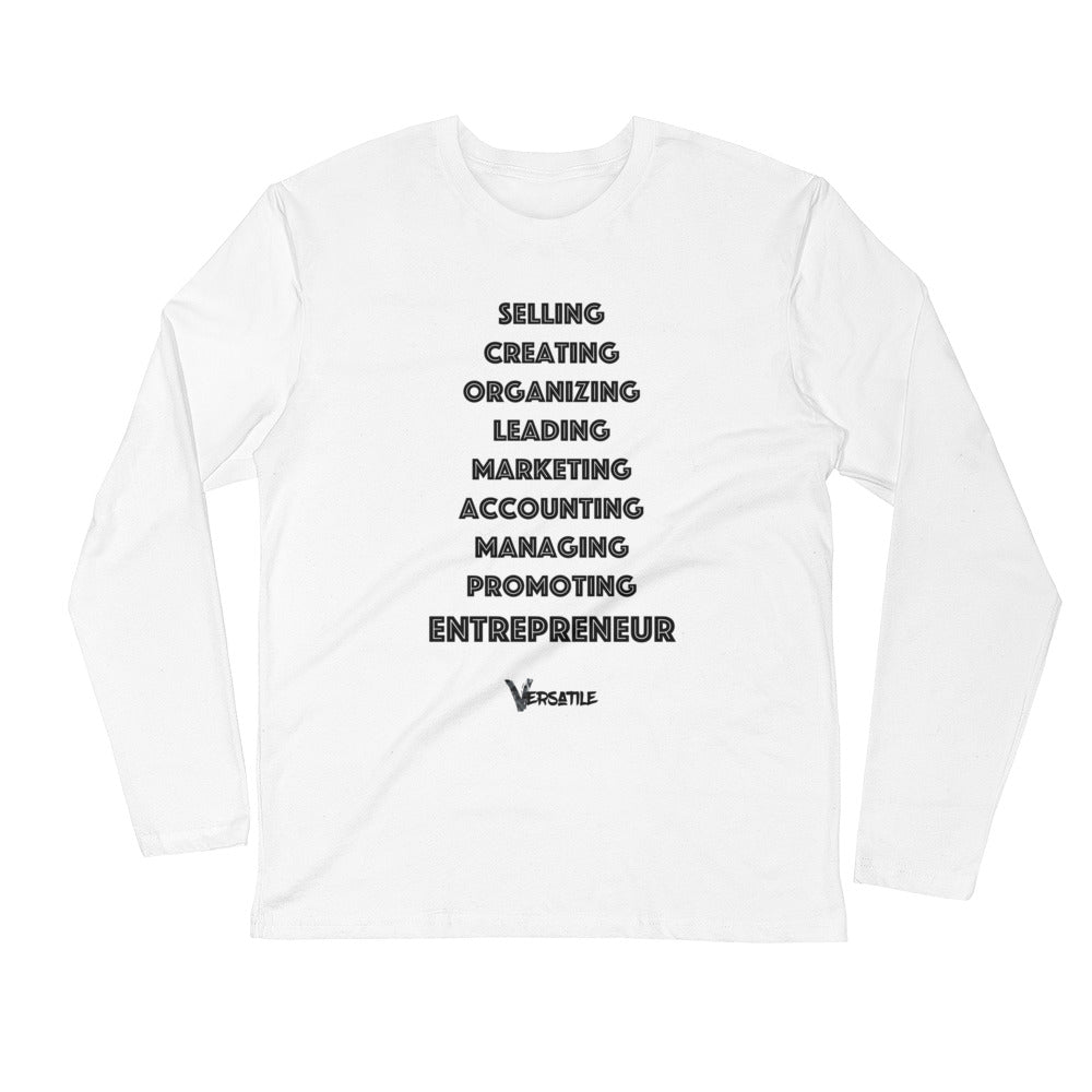 "Men's ""Entrepreneur"" L/S Crew"