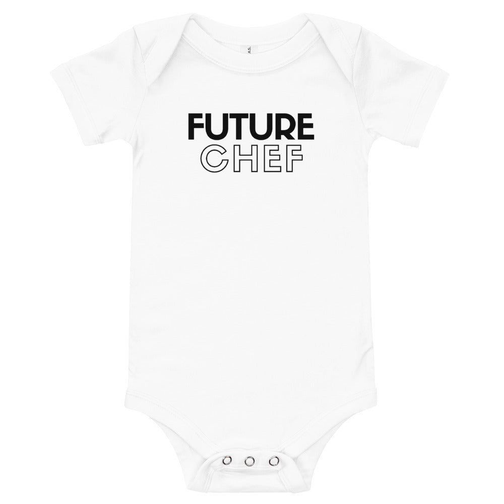 """Future Chef"" onesie"