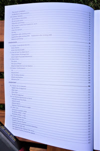 Table of contents of the book Islamic Studies Book