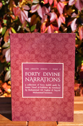 Front cover of the book Forty Divine Narrations