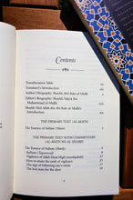 Table of contents of the book The Essence of Sufism