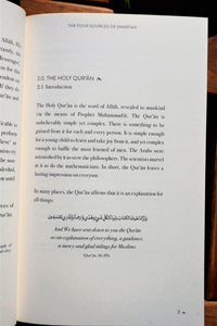 Sample pages of the book The Four Sources of the Shariah