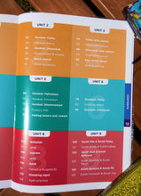 Table of contents of the book Qaidah Essentials