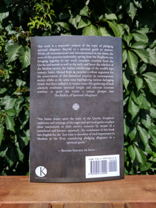 Back cover of the book The Reality of Spiritual Allegiance