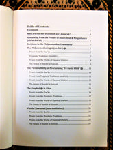 Table of contents of the book Beliefs and Practices of the Ahl Al-Sunnah Wa'l Jama'ah