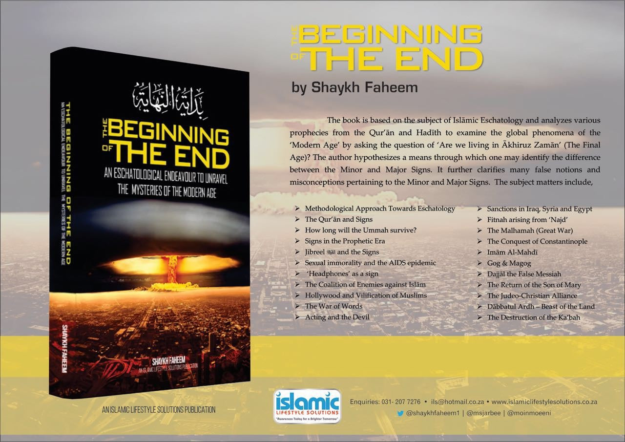 The Beginning of the End - An Eschatological Endeavour to