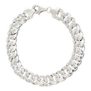 18K White Gold Chain Bracelet