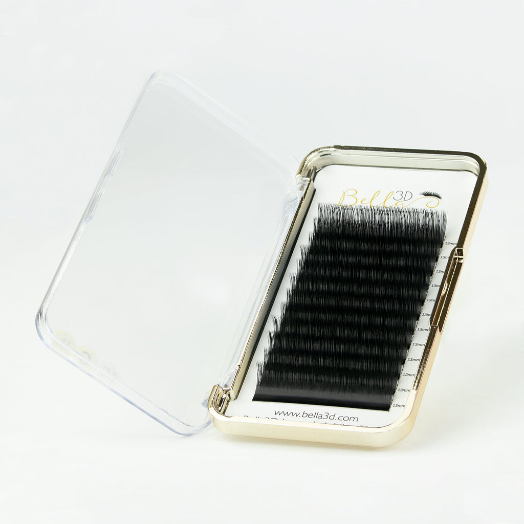 our luxury ultra black volume eyelash extensions