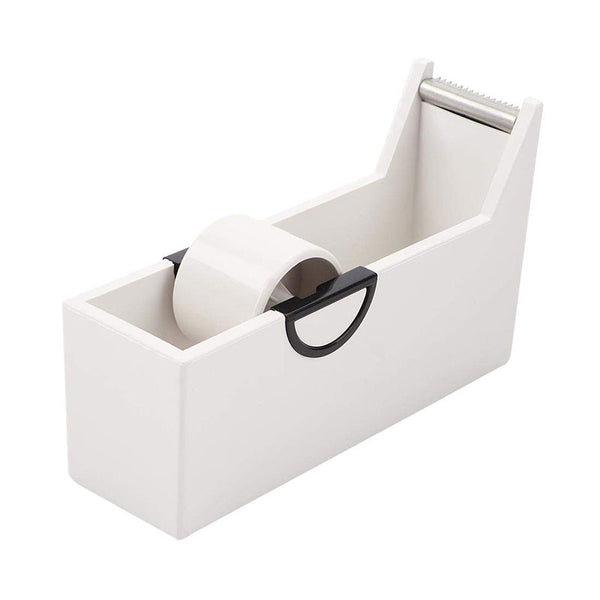 white mini tape dispenser