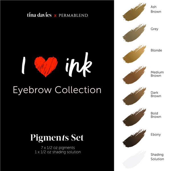 Tina Davies x Perma Blend Pigment Collections