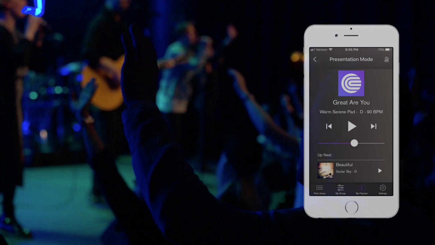 coresound pads | transform your worship service atmosphere instantly!