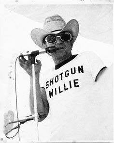 "The story behind Willie Nelson's nickname ""Shotgun Willie."""