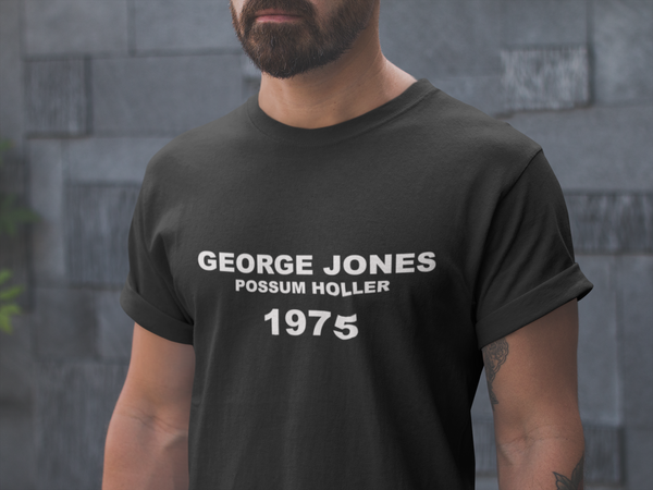 George Jones  Short Sleeve T-shirt