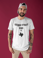 George Strait King of TX Unisex T-shirt