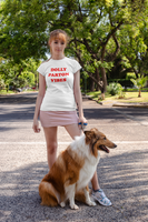 Dolly Patron Vibes (red font) Unisex T-shirt