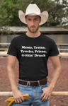 Mama, Trains, Trucks... Unisex T-shirt