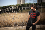 Willie Nelson Vibes (red font) Unisex T-shirt