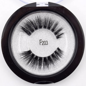 F203 - Fluttery 3D Mink Lashes