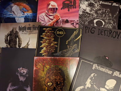 New Arrivals: Repulsion, Primitive Man, Death, Nothing