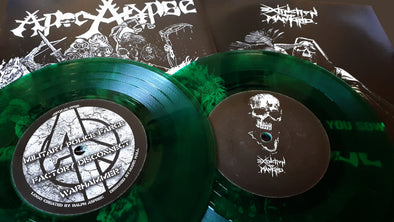 "Extinction of mankind /Apocalypse split 7""EP"