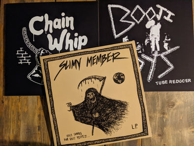 New Arrivals: Chain Whip, Slimy Member, Booji Boys