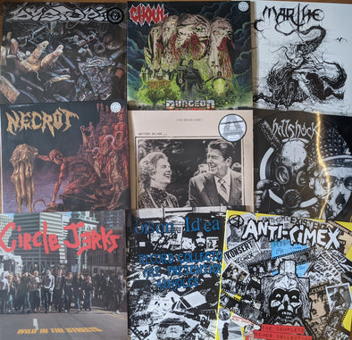 New In: Anti-Cimex, Marthe, Necrot, Hellshock