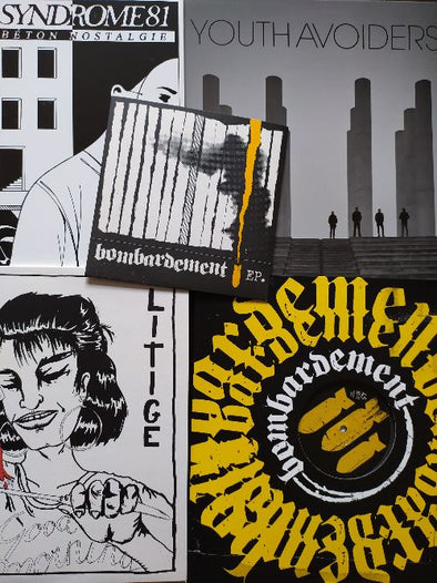 New In: Bombardement, Youth Avoiders, Litige, Syndrome 81