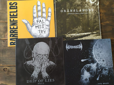 New Arrivals: Drip Of Lies, Barrenfields, Moribund Scum, Gränslandet