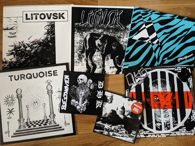 New In: Seein' Red, Turquoise, Oust, Besthoven, Litovsk