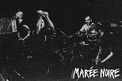 "New French D-Beat MAREE NOIRE 7"" Out February"