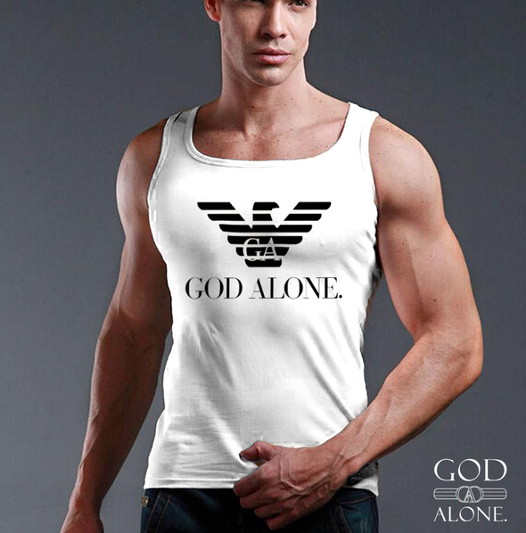 "God Alone. ""George O'Mahony"" vests"