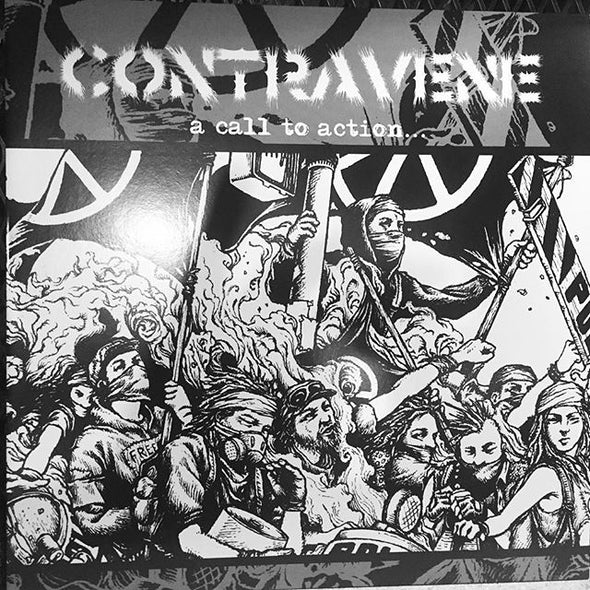 CONTRAVENE - A Call to Action LP