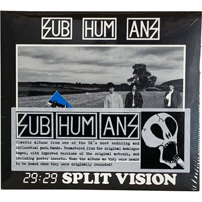 Subhumans ‎– 29:29 Split Vision 12""