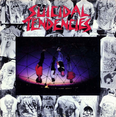 SUICIDAL TENDENCIES - s/t LP (Reissue)