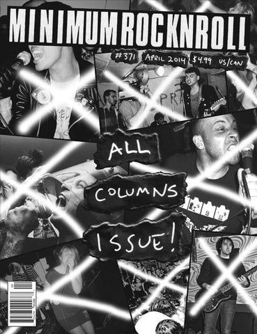 MRR issue 371/Apr 2014 The All Columns Issue!
