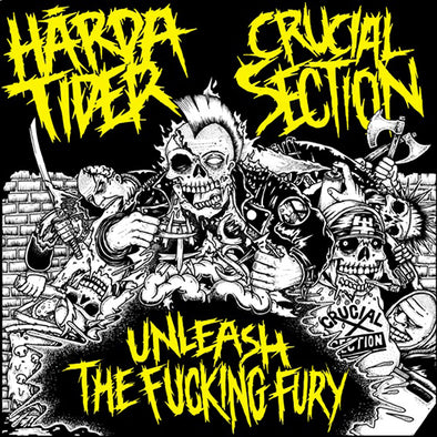 Harda Tider/Crucial Section - Split EP