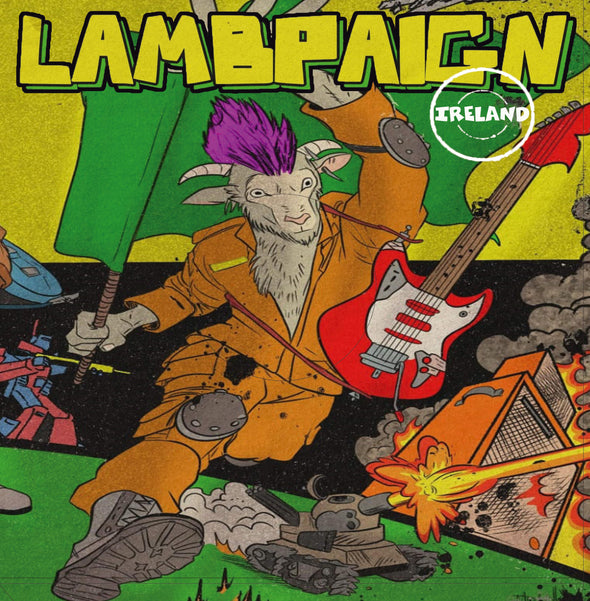 LAMBPAIGN - Irish Punk Compilation LP