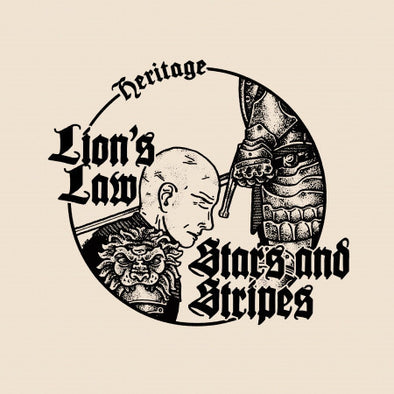 LION'S LAW / STARS & STRIPES- SPLIT 7 ""