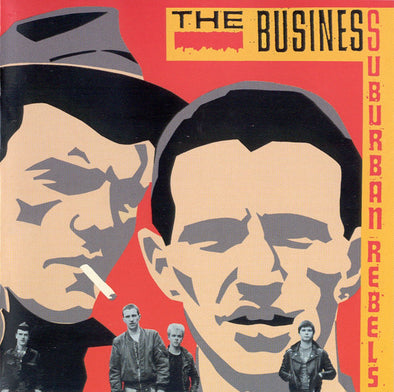 The Business - Suburban Rebels LP Gatefold