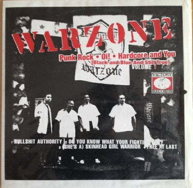 WARZONE/CAUSE FOR ALARM split 12""