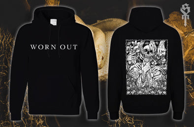 Worn Out Hoodie Black