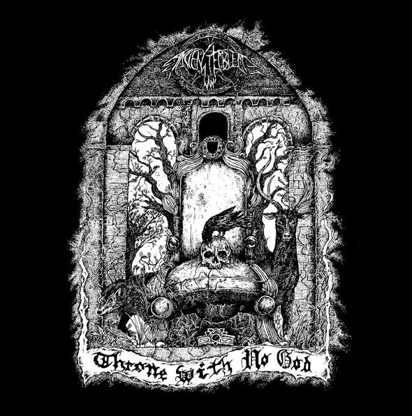 "ANCIENT EMBLEM ""Throne with no god"" LP"