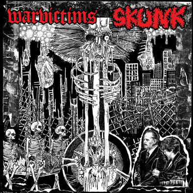 SKUNK / WARVICTIMS - SPLIT EP