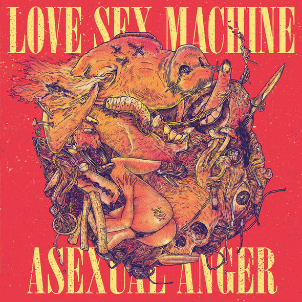 "LOVE SEX MACHINE ""Asexual Anger"" LP"