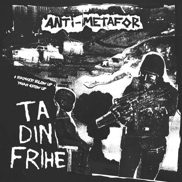 ANTI-METAFOR / SCARED EARTH split 7""